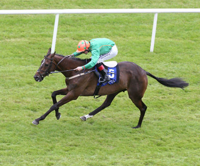 CURRAGH SUN 19 JULY 2015  PICTURE: CAROLINE NORRIS     DIGEANTA RIDDEN BY PAT SMULLEN WINNING THE O'BRIENS WINES HANDICAP